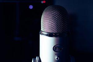 announcer voice
